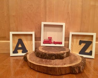 Child's A to Z Shadowboxes (set of 3)