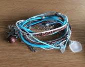 custom triple wrap bracelet