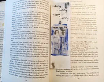 Tardis Bookmark