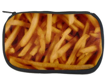 Fast Food Golden French Fries Pencil Pouch