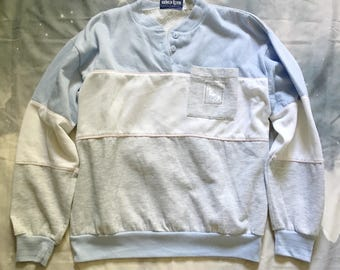 Pastel Color Block Sweatshirt