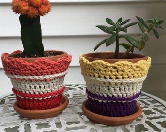 Comfy 'Cotta Coats (Flower Pot Cover)