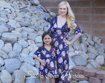 Mommy and Me Outfits | Mother Daughter Matching Dress | Mommy and Me Dress | Mom and Baby Outfits | Matching Family Outfits