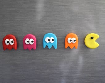 Pacman Magnets
