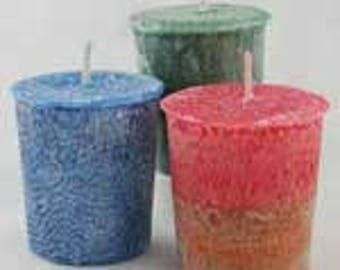 Palm Oil Votive Candles