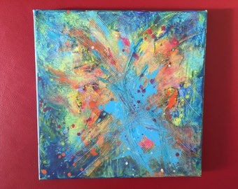 """Abstract Painting """"Endorphins II"""""""