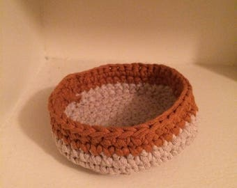 Crochet jewellery bowl (large)