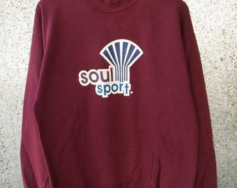 Vintage Soul Sport sweatshirt made in usa