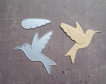 Animal bird Hummingbird Sizzix die
