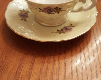 Tea Cup and Saucer by Walbrzych