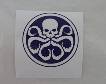 Hydra Captain America The Avengers Marvel Decal Any Size Any Colors