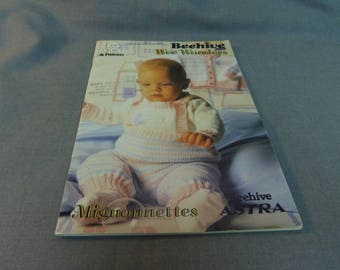 "Knitting Patterns, Beehive Wee Wonders, Book 478, 1986 Baby Clothes, Chest 16"", 18"", 20"" OOP"