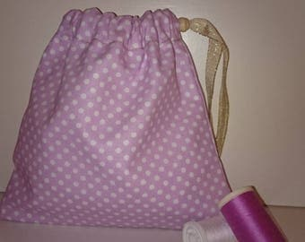 Fabric pouch / / storage bag / / dressing / / lingerie / / gift
