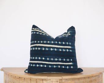18X18 Indigo Pillow Cover