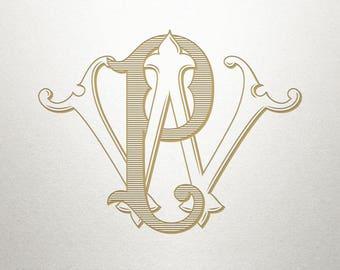 Wedding Logo Design - PW WP - Wedding Logo - Digital