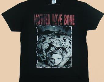Mother Love Bone, Apple, T-shirt 100% Cotton