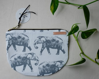 Elephants! On a notions bag
