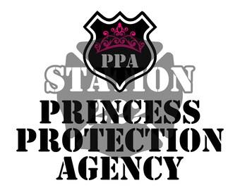 Princess Protection Agency SVG cut file