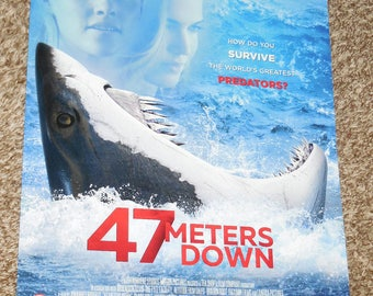47 Meters Down 13x19 D/S Promo Movie POSTER