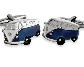 VW Van Cufflink
