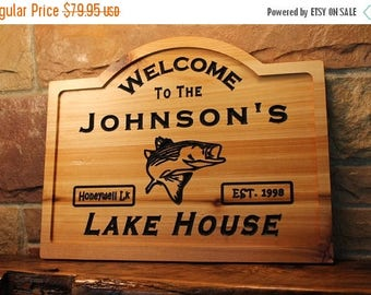 Back to School Sale Personalized lake house sign, custom wood lake house sign, Personalized lake sign, custom lake house sign, custom lake s