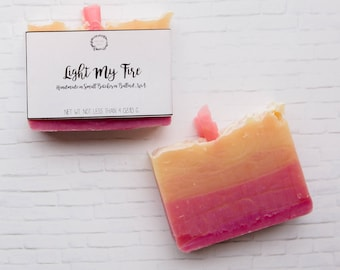 Ylang Ylang Soap - Cold Process Soap, Handmade Soap, Vegan Soap, All Natural Soap, Soap, Bar Soap