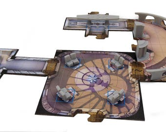 Imperial Assault Game Gear : Bespin Gambit Obstacles and Terrain Set