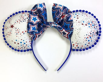 Patriotic Stars Mouse Ears