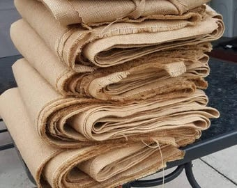 """Upholstery hessian fabric by the metre. 73"""" Wide"""