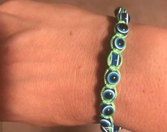 Neon Evil eye bracelet