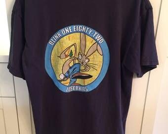 Blink 182 Navy Tshirt - Large