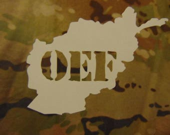 Operation Enduring Freedom Deployment Decal