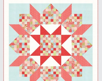 Patchwork Swoon Quilt Pattern from Thimble Blossoms by Camille Roskelley