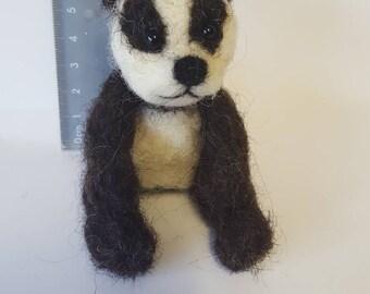 Cute needle felted panda