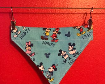 Mickey and Minnie Dog Bandana