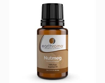 Nutmeg Essential Oil | 5 mL | 15 mL | 30 mL | 100% Pure Therapeutic Grade