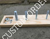 Custom Order for Lynn G -- Nuts and Bolts Board (Smaller)