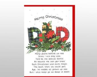Christmas Dad Card WWXM72