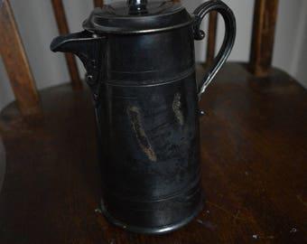 Beautiful Sheffield electroplate milk jug