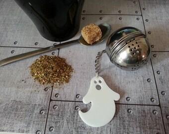 Halloween ghost tea ball