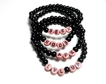 SALE 50% Bracelets elastic geek