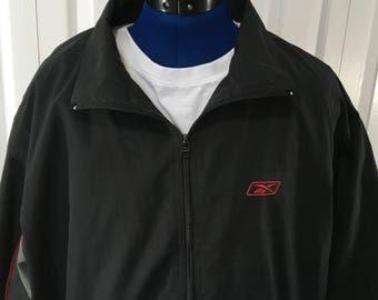 Vintage Reebok Windbreaker Size XL Vintage Jacket