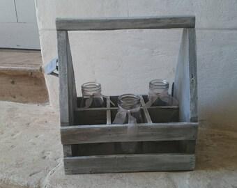 Door or bottle rack - storage shabby