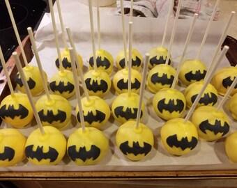 Batman cake pops (Order of 13)