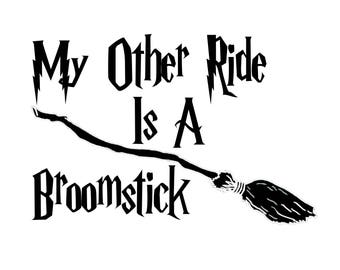 Harry Potter Car Decal