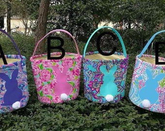 Lily Pulitzer Inspired Easter Baskets  ****PREORDER****