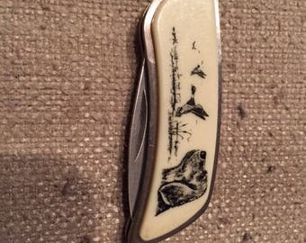 Vintage Sharp Brand Pocket Knife