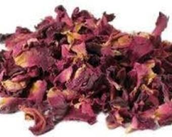 Dried Rose Petals, Bath Bomb, Rose tea, Soap making.