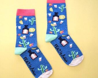 Mexican Fiesta socks