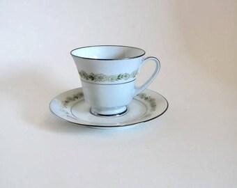 Noritake Fine Bone China Cup and Saucer
